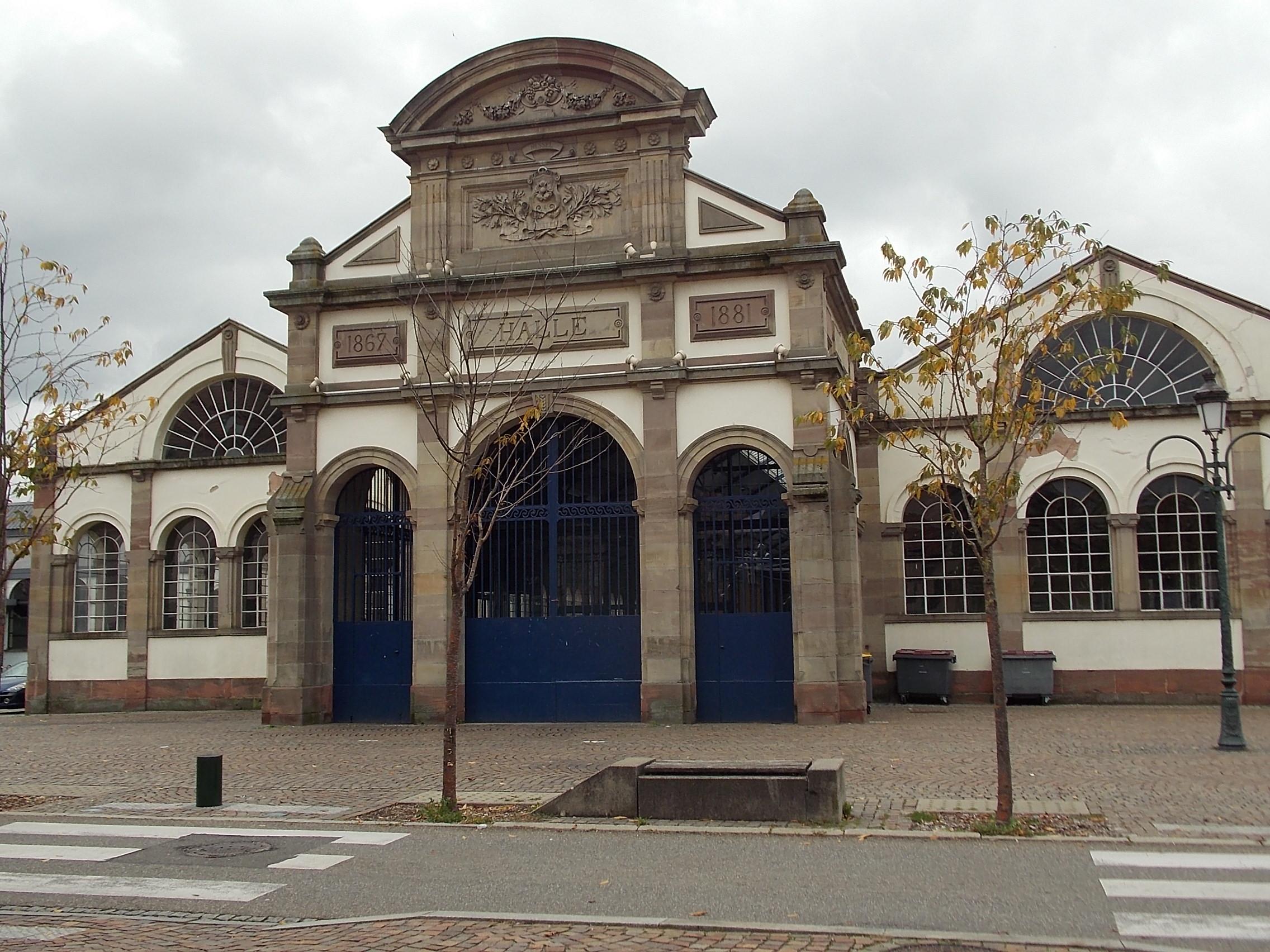Elsass Haguenau Hopfenhalle