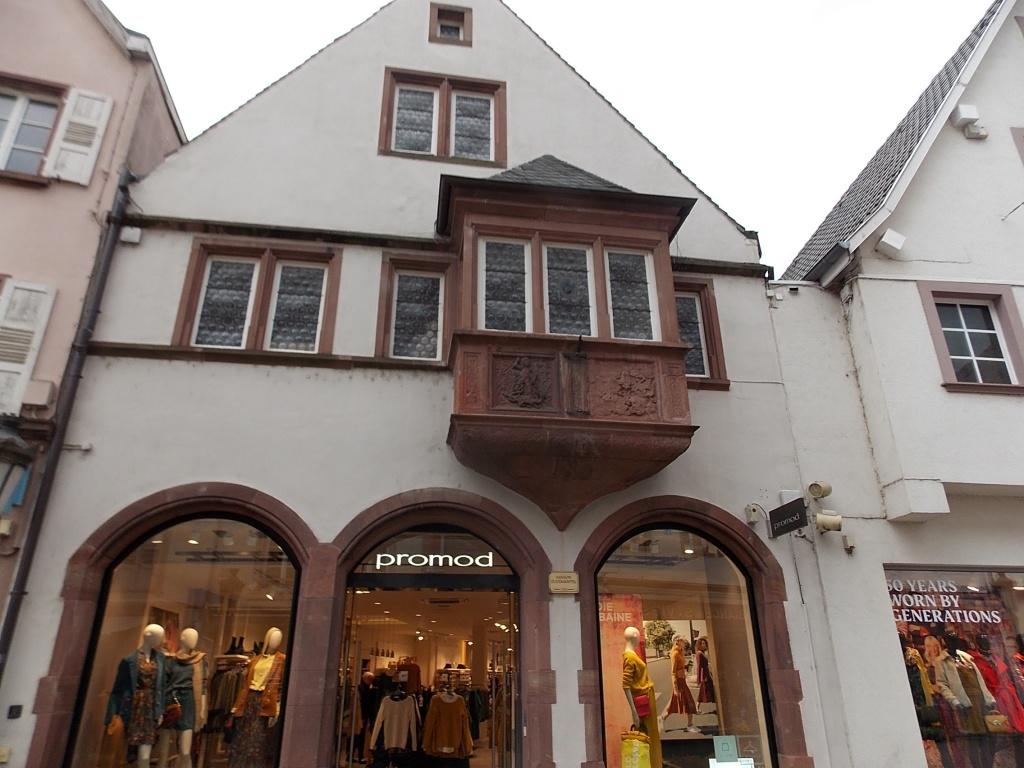 Elsass Haguenau Grand Rue