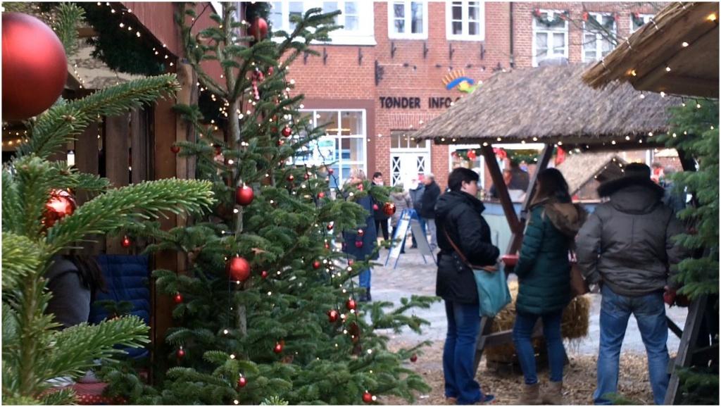 Tondern, Torvet 2018 Weihnachtsmarkt
