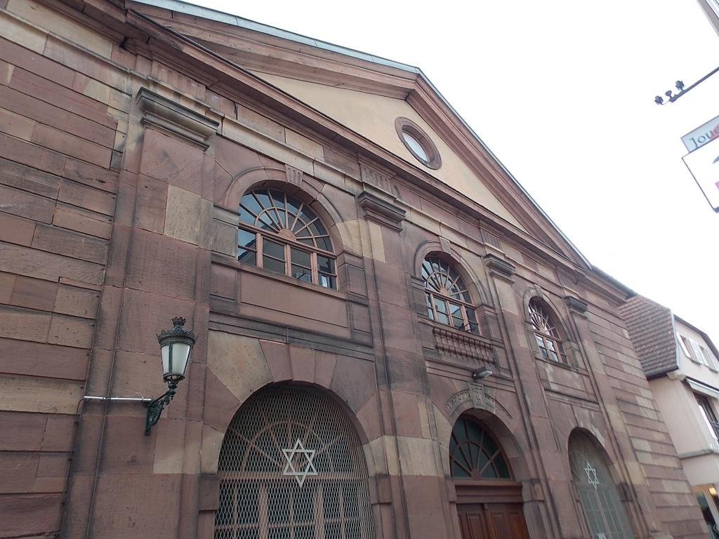 Elsass Haguenau Synagoge