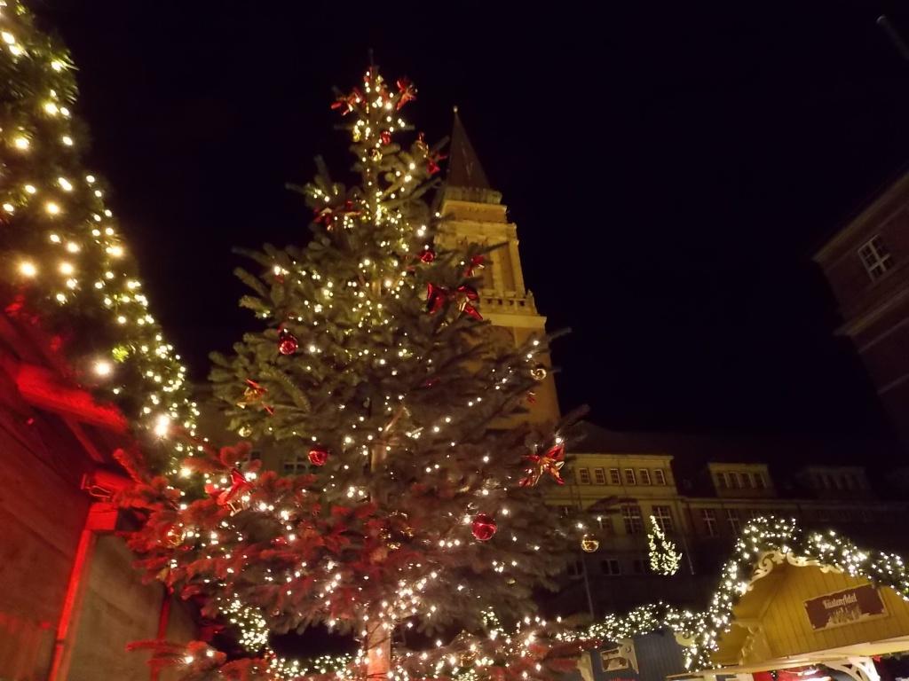 Kiel Rathaus 2018 Weihnachtsmarkt
