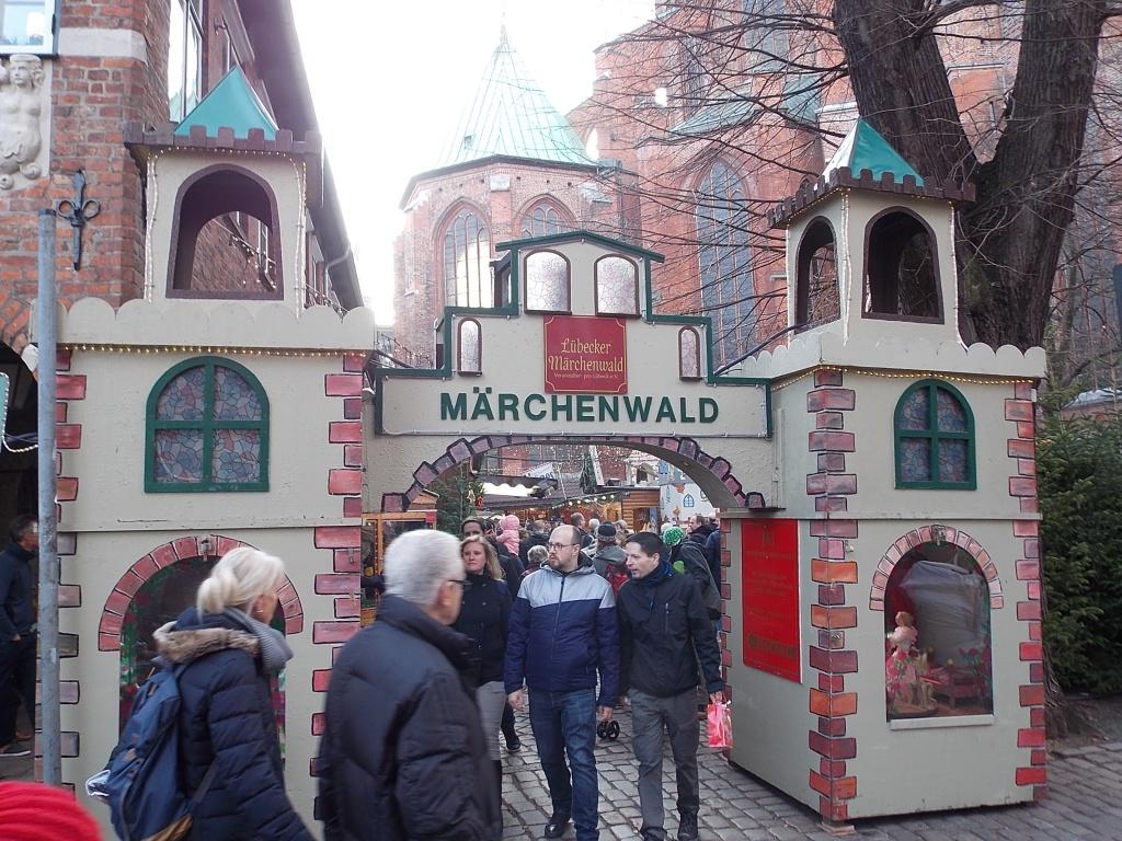 Lübeck Märchenwald Marienkirche 2018 Weihnachtsmarkt