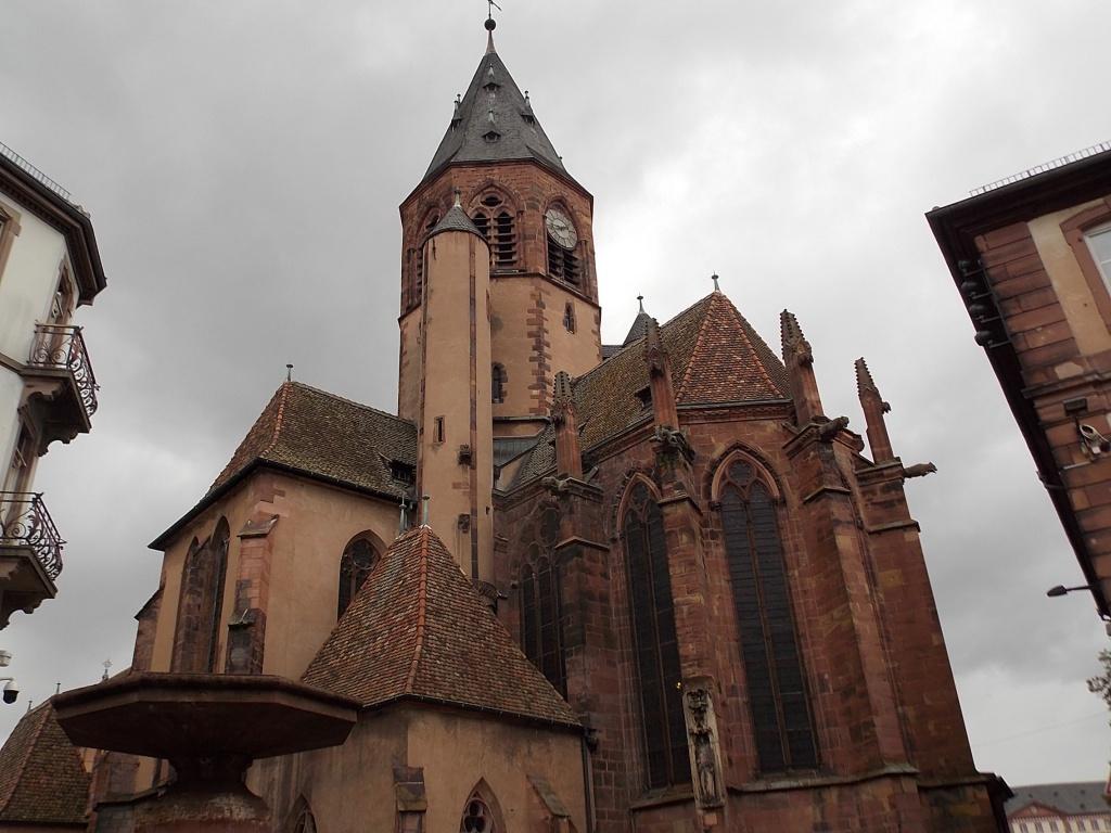 Elsass Haguenau Paroisse Saint-Georges