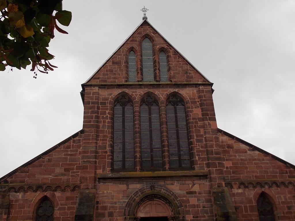 Elsass Hagenau Kirche St. Georg