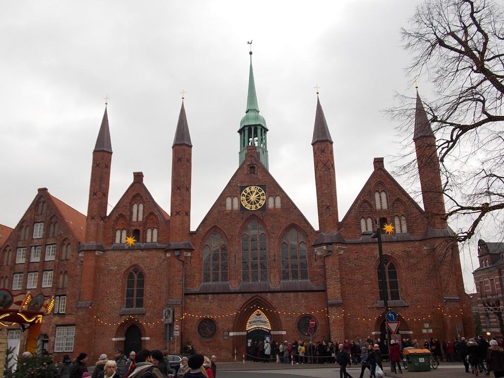 Lübeck Heiligen Geist Hospital 2018 Weihnachtsmarkt