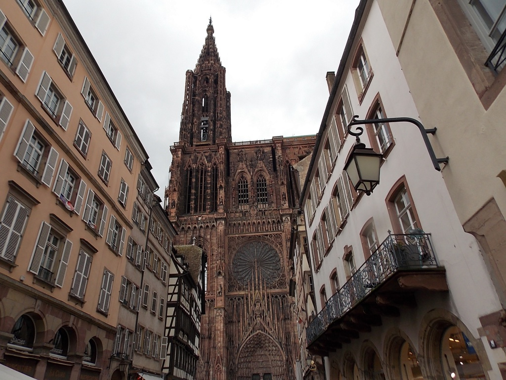 Elsass Cathédrale Notre Dame de Straßburg