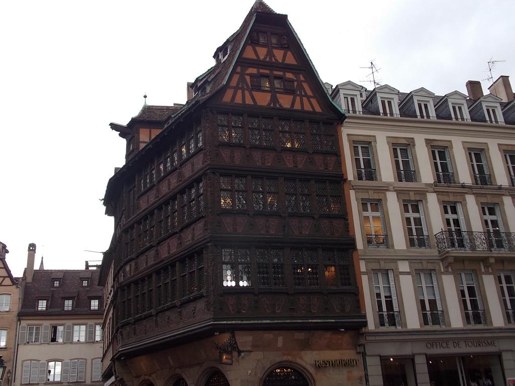 Alsace Strasbourg Place de la Cathédrale