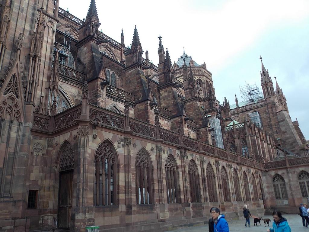 Elsass Cathédrale Notre Dame de Strasbourg