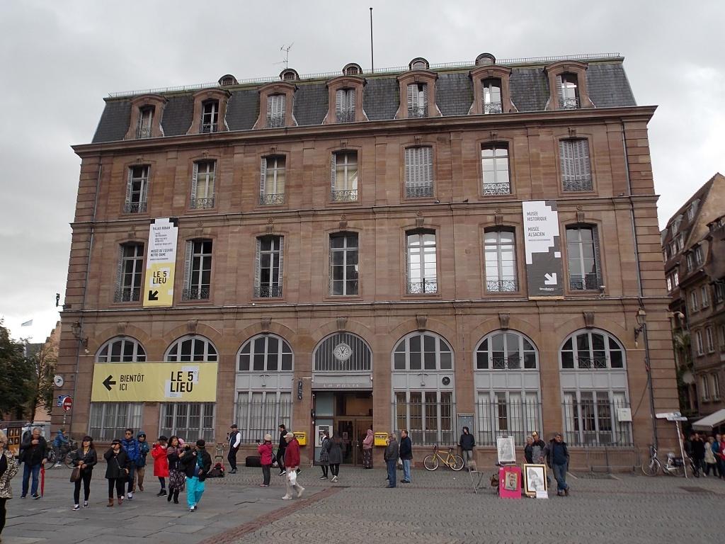 Alsace Strasbourg La Poste
