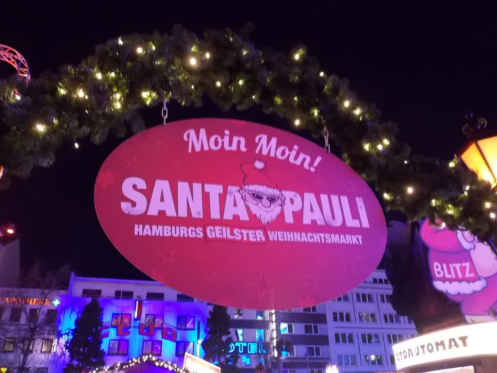 Hamburg SANTA PAULI 2018