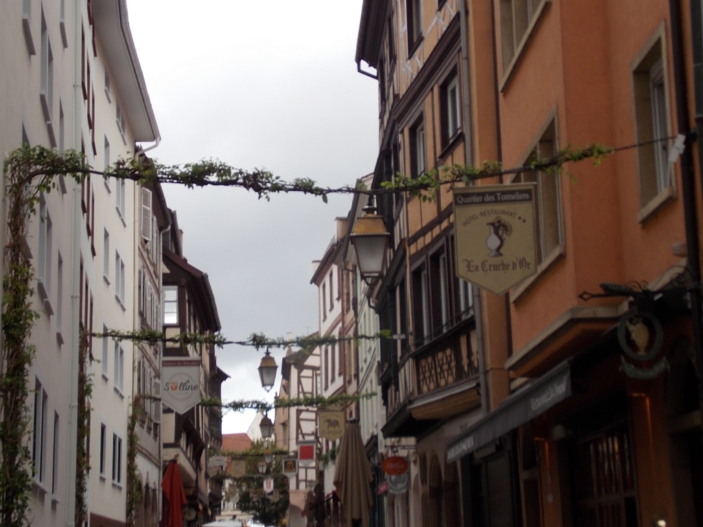 Elsass Alsace Straßburg Strasbourg Rue des Tonneliers