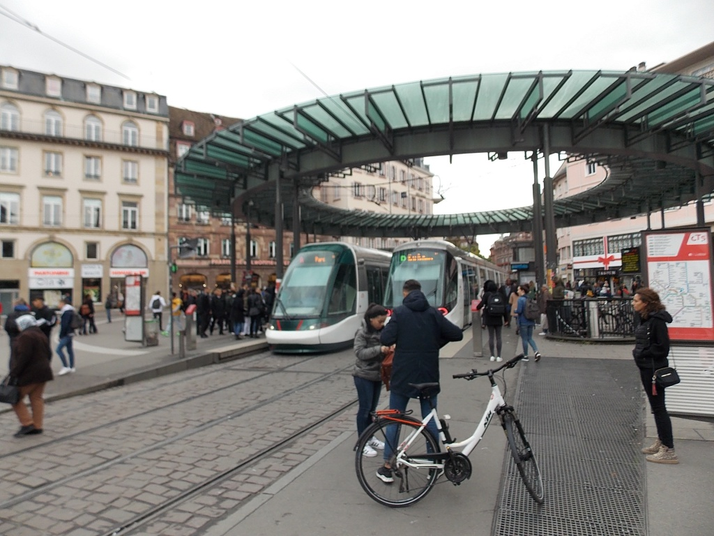 Elsass Alsace Straßburg Strasbourg Place de l'Homme de Fer