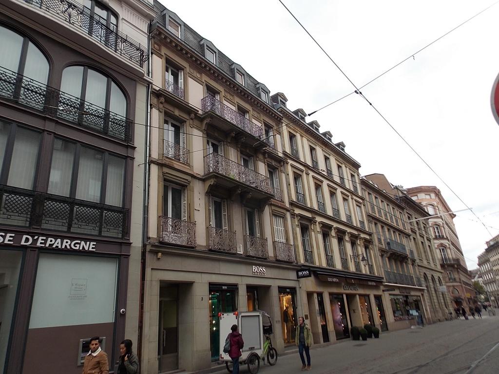 Elsass Alsace Straßburg Strasbourg Rue de la Haute Montée