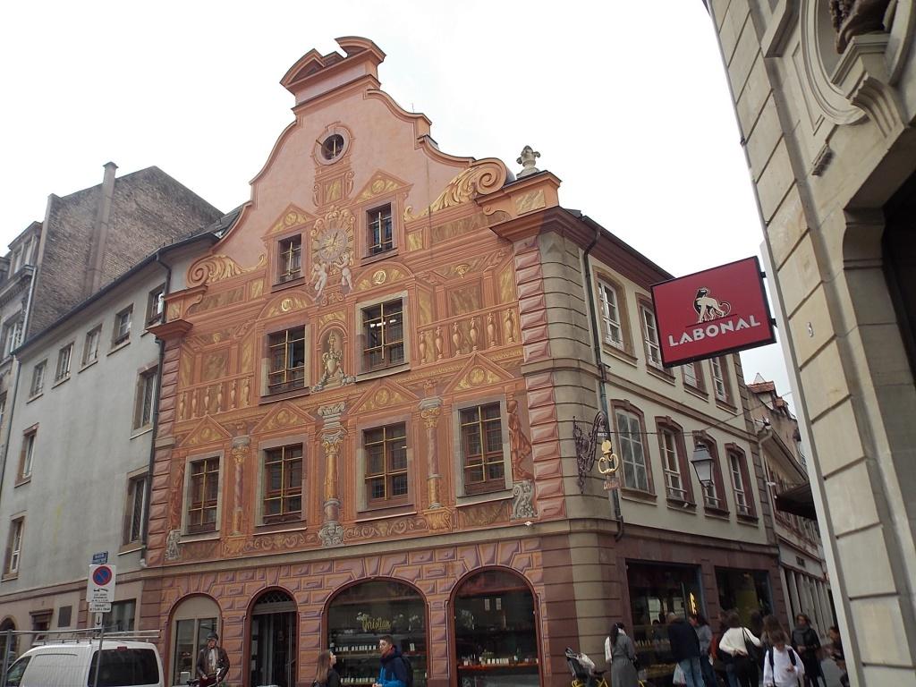 Elsass Alsace Straßburg Strasbourg Rue de l'Outre