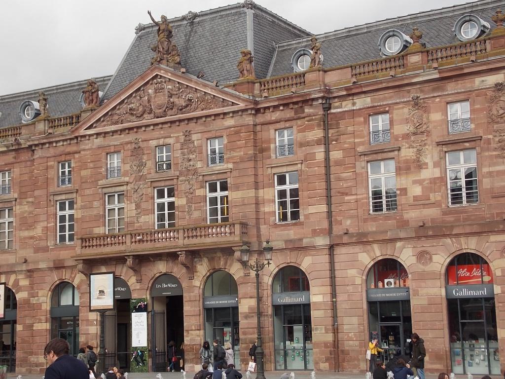 Elsass Alsace Straßburg Strasbourg Aubette Place Kléber