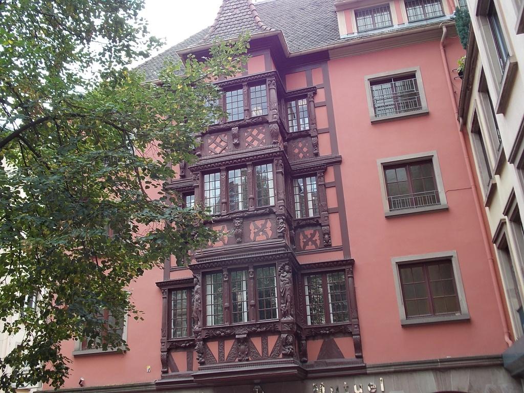 Elsass Alsace Straßburg Strasbourg Rue des Hallebardes