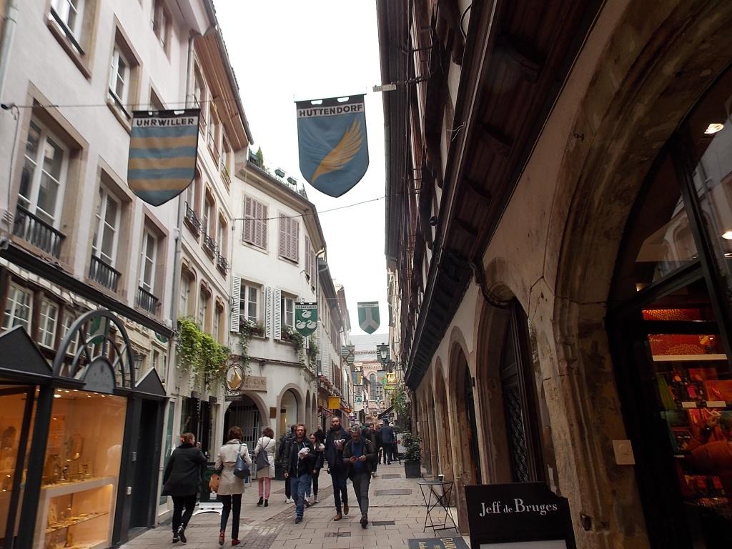 Elsass Alsace Straßburg Strasbourg Rue des Orfèvres