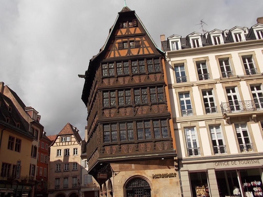 Elsass Alsace Straßburg Strasbourg Place de la Cathédrale