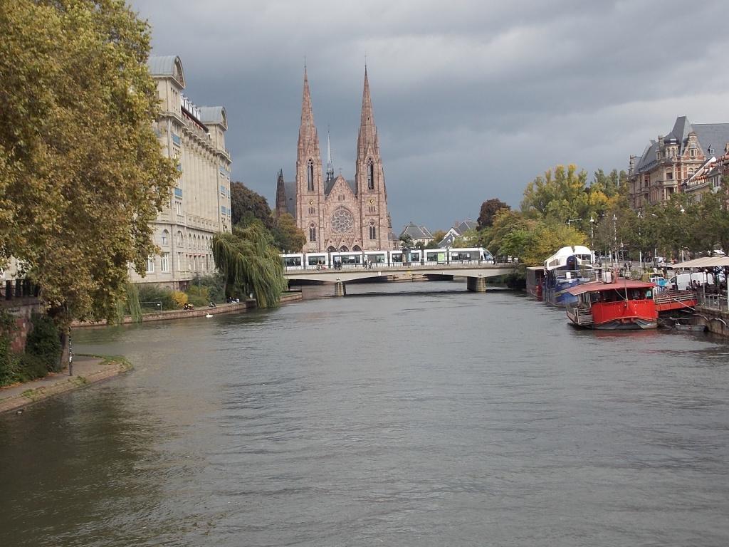 Elsass Alsace Straßburg Strasbourg Église Saint-Paul