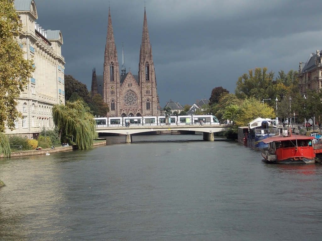 Elsass Alsace Straßburg Strasbourg Paulskirche