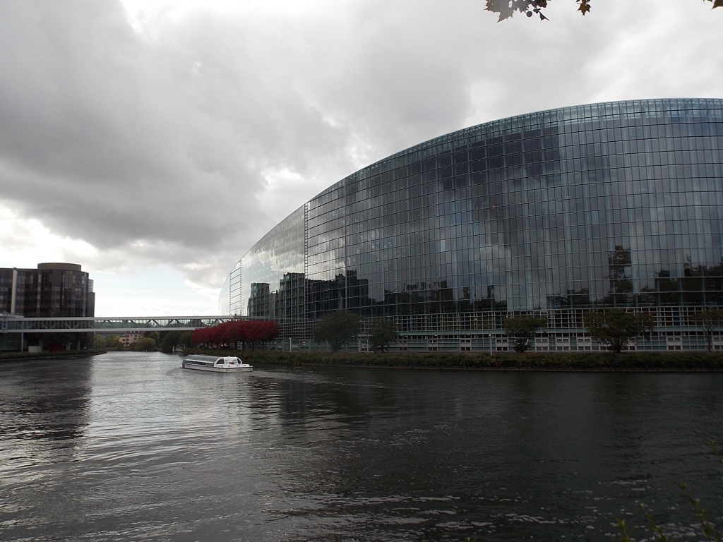 Elsass Alsace Straßburg Strasbourg Europäische Parlament