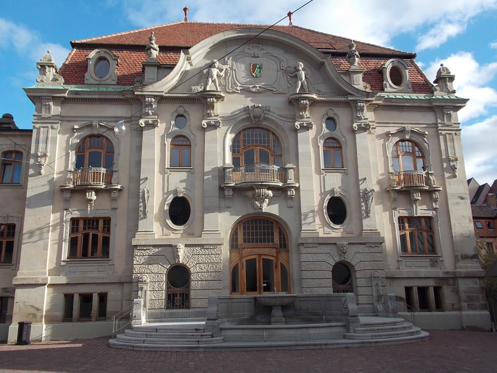 Elsass Alsace Colmar Musée Unterlinden Nouveau Batiment