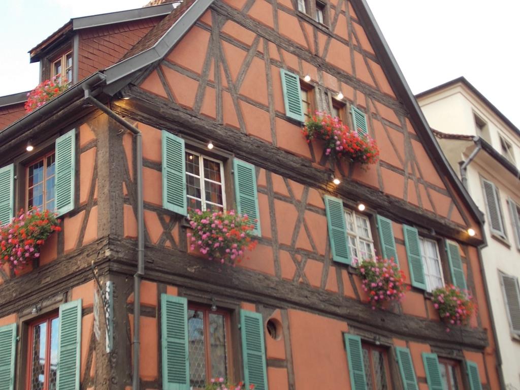 Elsass Alsace Colmar Rue du Rempart