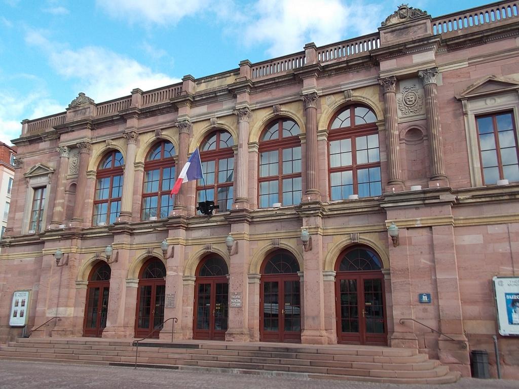 Elsass Alsace Colmar Théâtre Municipal de Colmar