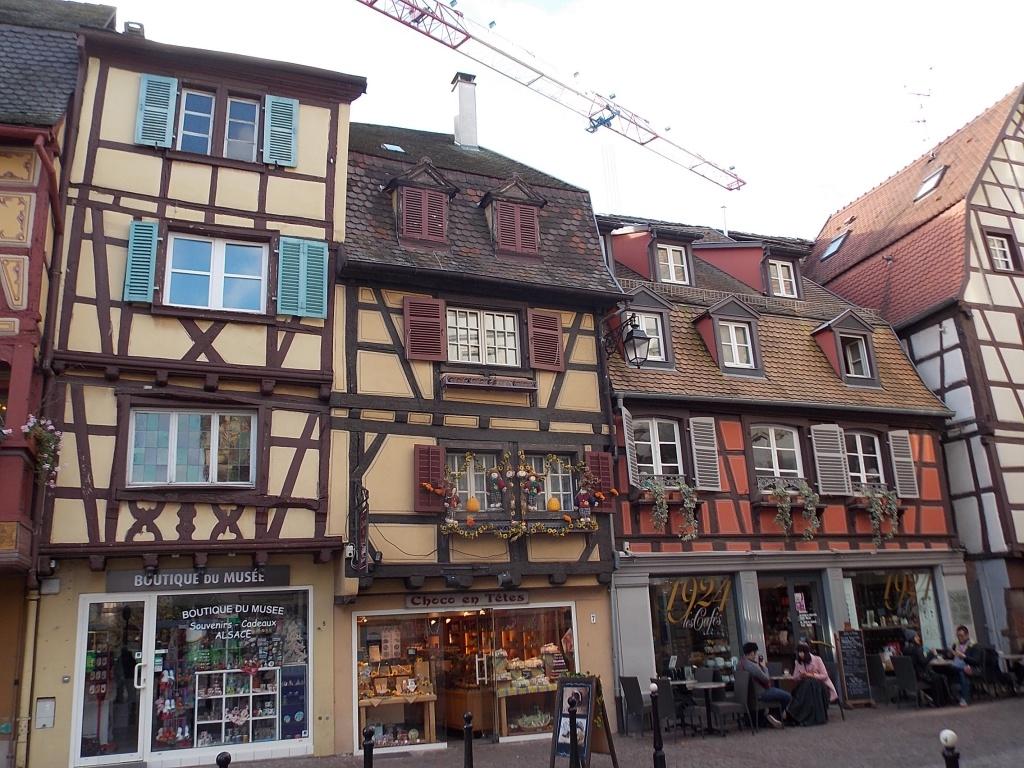 Elsass Alsace Colmar Rue des Têtes