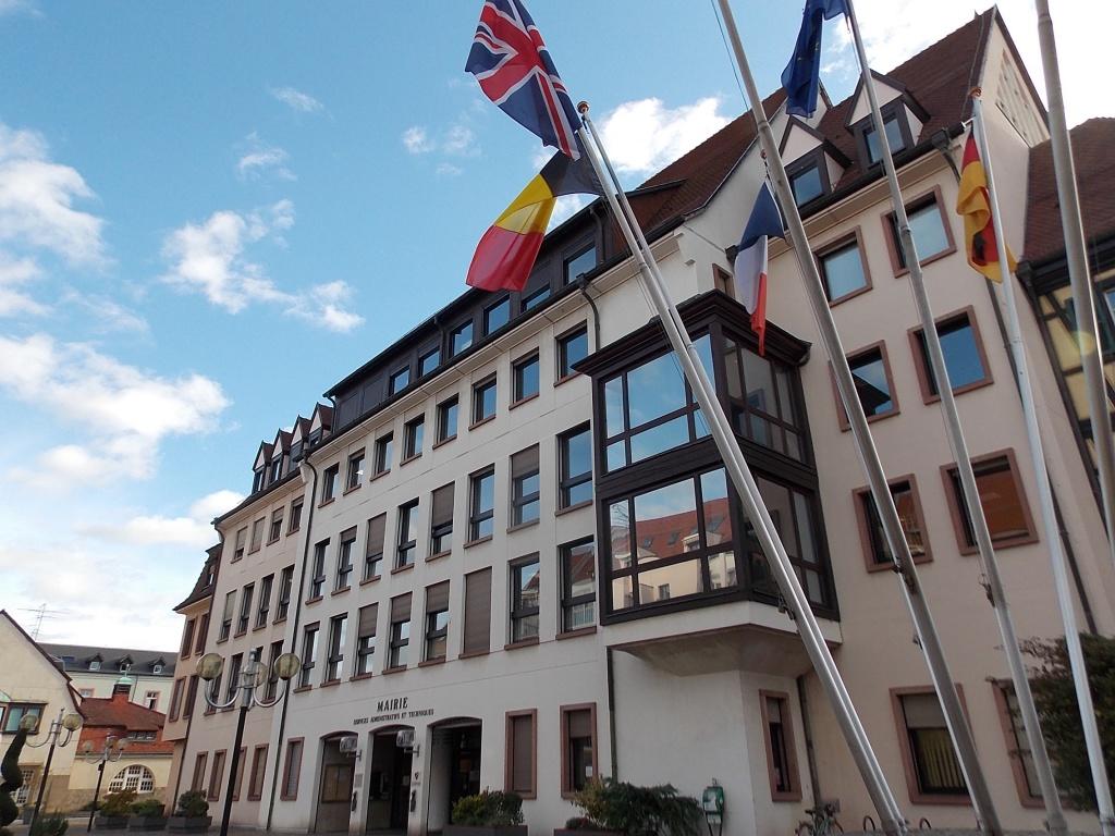 Elsass Alsace Colmar Mairie de Colmar Place de la Mairie