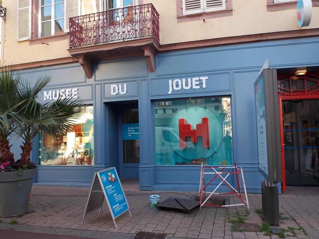 Elsass Alsace Colmar Musée du Jouet Rue Vauban