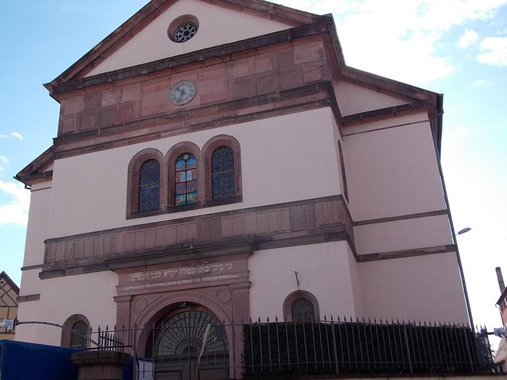 Elsass Alsace Colmar Synagoge