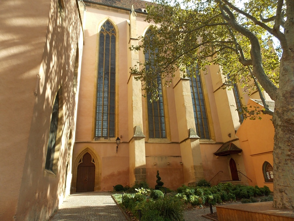 Elsass Alsace Colmar Église Saint-Matthieu St. Mathieu