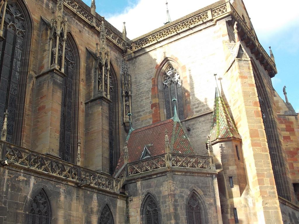 Elsass Alsace Colmar Collégiale St-Martin Martinsmünster