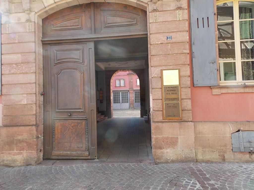 Elsass Alsace Colmar Rue Berthe Molly