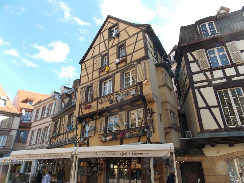Elsass Alsace Colmar Place des Dominicains