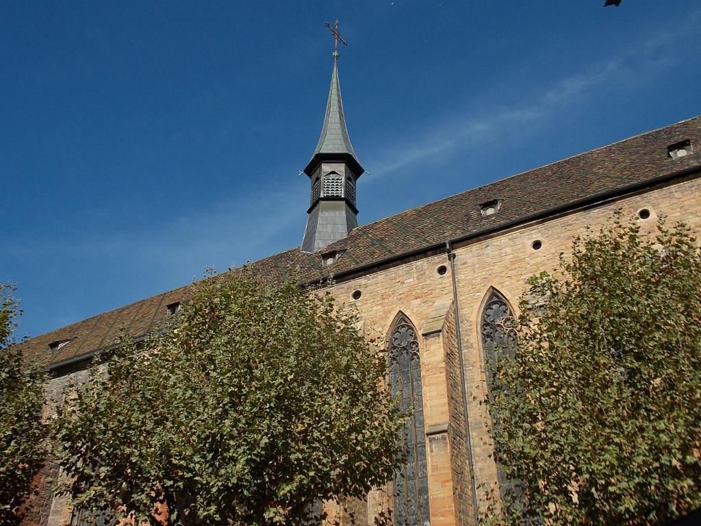 Elsass Alsace Colmar Église des Dominicains Kirche der Dominikaner