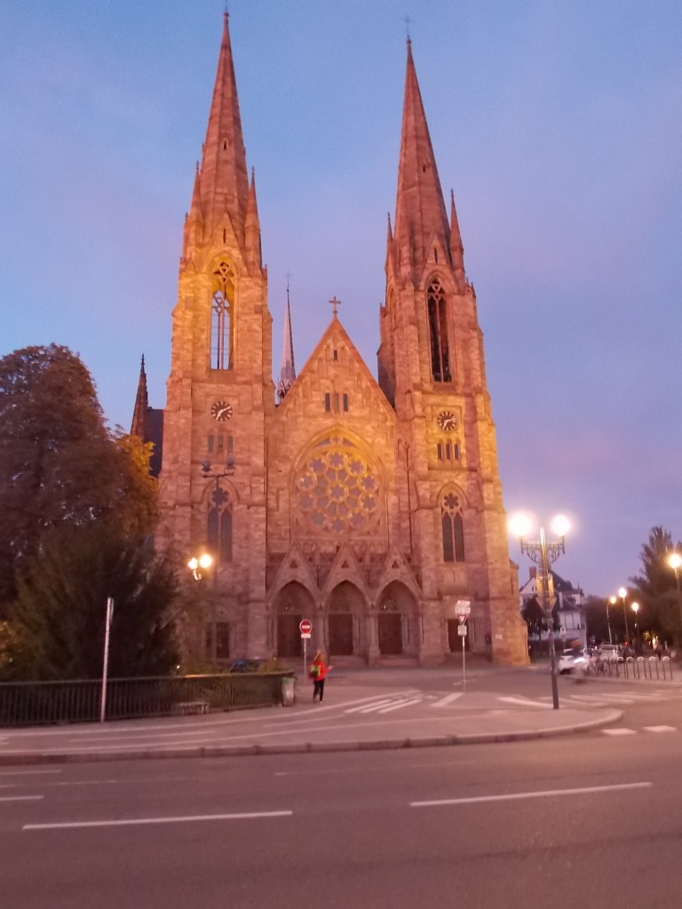 Elsass Alsace Straßburg Strasbourg Église réformée Saint-Paul