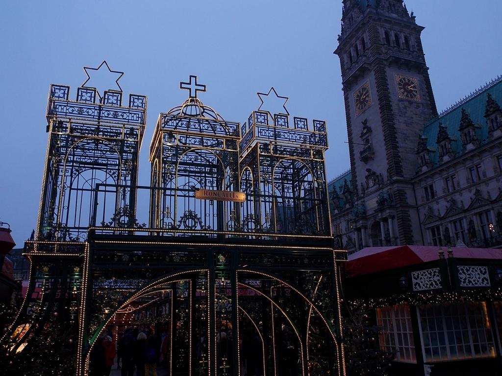 Hamburg 2019 Rathausmarkt