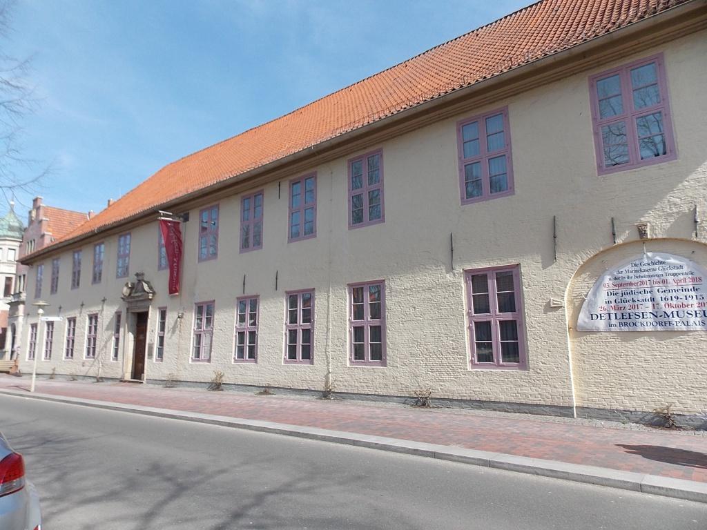 Glückstadt Detlefsen-Museum Brockdorff-Palais