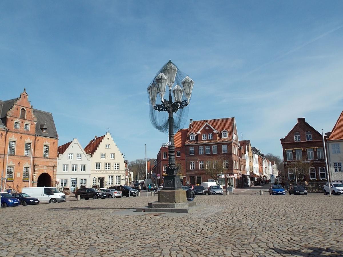 Glückstadt Marktplatz