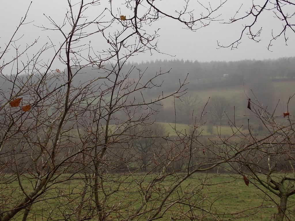Hüttener Berge Nebel Dunst