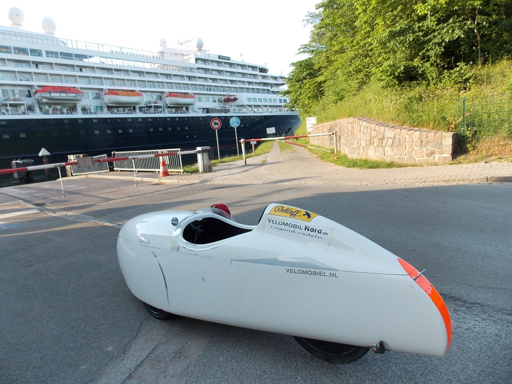 Nord-Ostsee-Kanal Velomobil Quest