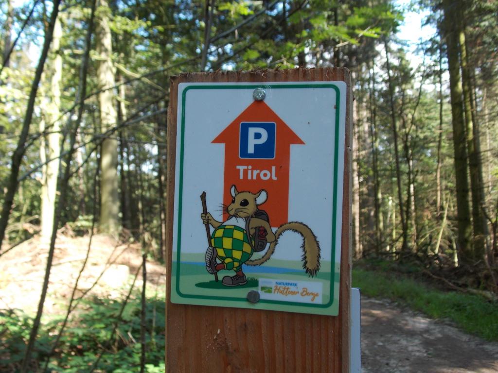 Wanderroute 7 Brekendorfer Forst Parkplatz Tirol