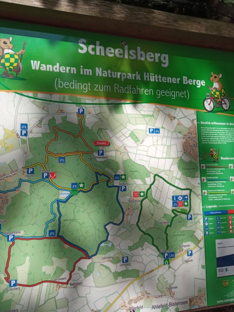 Wanderweg 7 Brekendorfer Forst Wanderkarte Scheelsberg