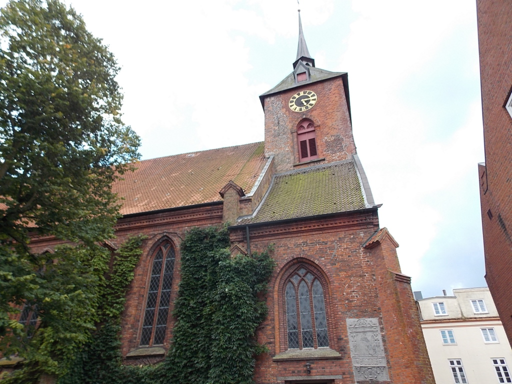 Jakobsweg via Jutlandica Camino de Santiago St. Marien I Rendsburg