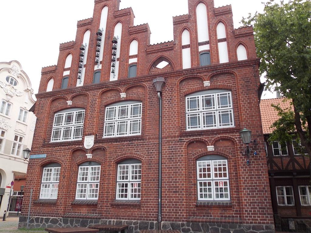 Jakobsweg via Jutlandica Camino de Santiago Alte Rathaus Rendsburg
