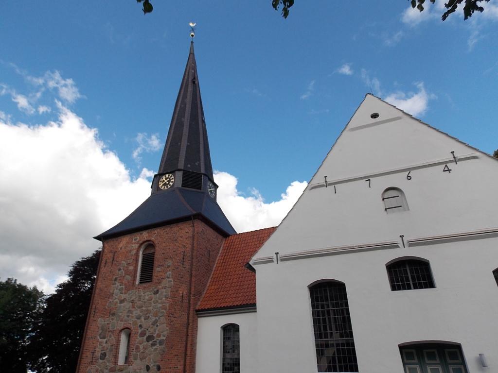 Jakobsweg via Jutlandica Camino de Santiago Kirche Jevenstedt