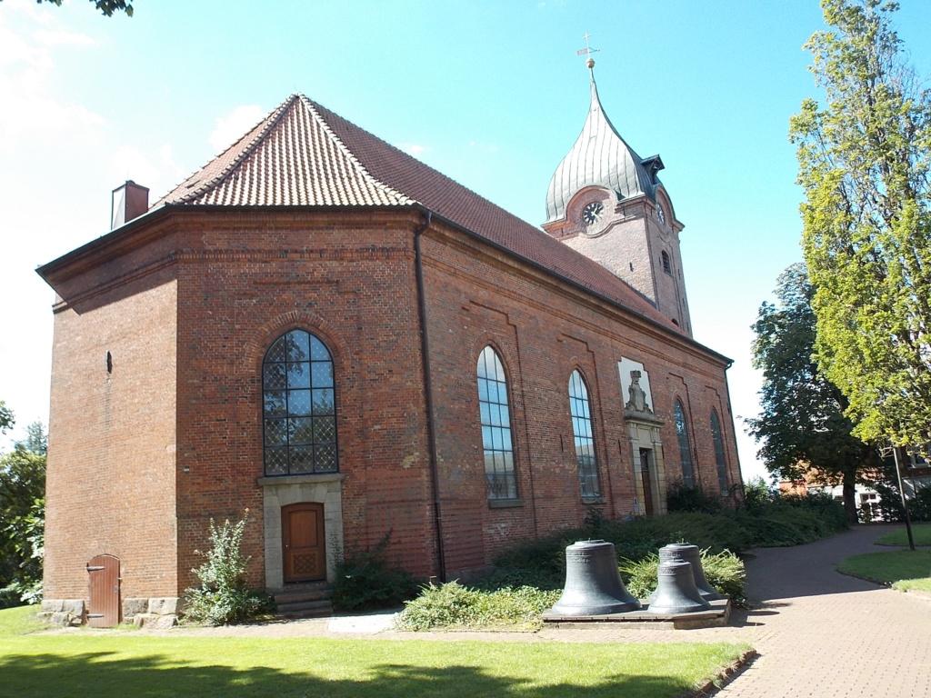 Jakobsweg via Jutlandica Camino de Santiago Peter-Pauls-Kirche Hohenwestedt