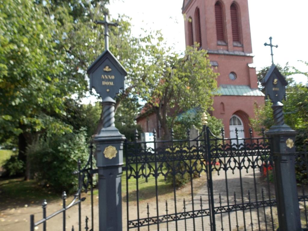 Jakobsweg via Jutlandica Camino de Santiago St. Urban-Kirche Borsfleth